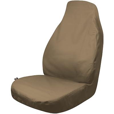 Dickies 3001683 Heavy Duty Waterproof Bucket Seat Cover, Tan: Automotive