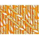 Wonka Pixy Stixs Candy Powder Orange 6 Inch 50 Count