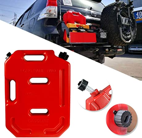 Portable 5L Fuel Oil Gasoline Tank Large Container Storage for Auto Car Truck