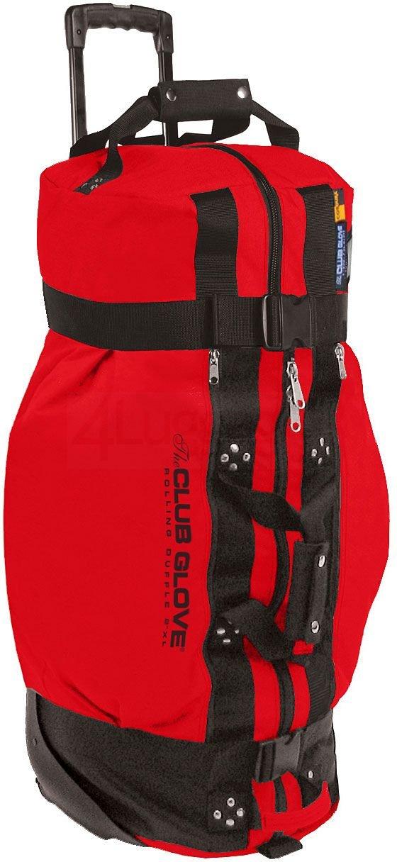 クラブグローブPersonalized II Rolling Duffel Bag – XL B0015S6ZY6  レッド