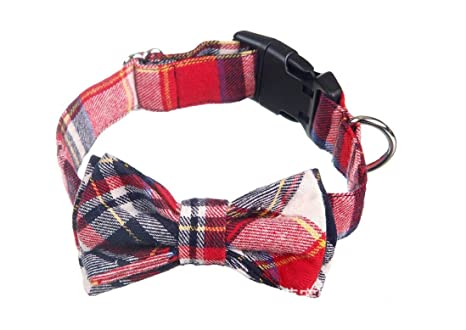 XCXpj Collares Ajustable Pajarita Ajustable Collar para Mascotas Paño para Gatos Paño Collar para Cuello para