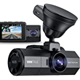 Vantrue N2S 4K Uber Dual Dash Cam with GPS, 1440P Front and Cabin Car Dashboard Camera, 2 Channel Motion Detection Parking Mo