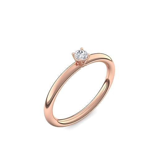 Compromiso anillos con piedras preciosas o Swarovski piedra ** + estuche! Anillos