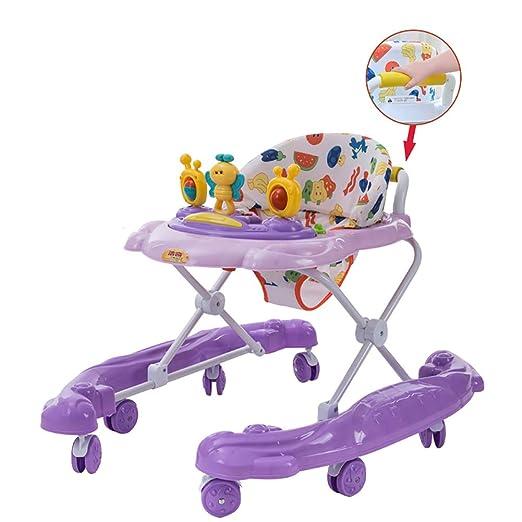 WAWDZG Prevención de vuelco bebé Walker multifunción Anti-o Pierna ...