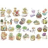 Hacoly 6 Fogli Adesivo Scrapbook Stickers Diario Della