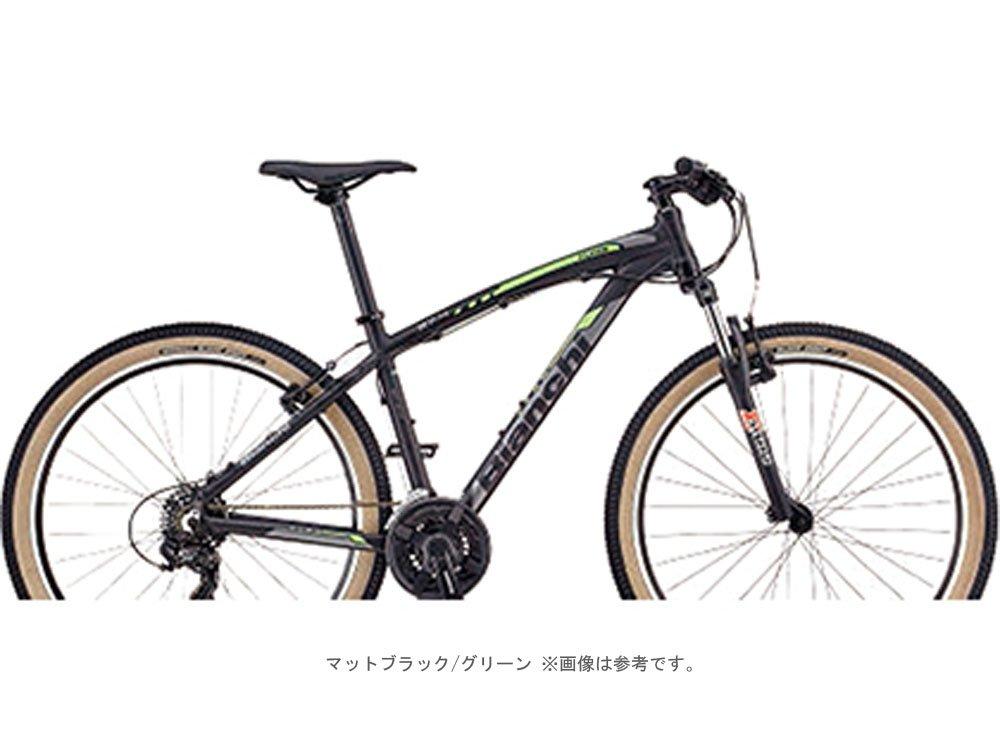 BIANCHI(ビアンキ) 2018 KUMA 27.4(3x7段 V-BRAKE)MTB27.5インチ <マットブラック/グリーン> B077YTW11Q38