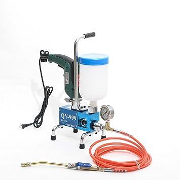 syarin 780 W 220 V/110 V 50 Hz máquina de impermeabilización de relleno espuma de poliuretano Inyección Grouting Bomba de inyección Grouter: Amazon.es: ...