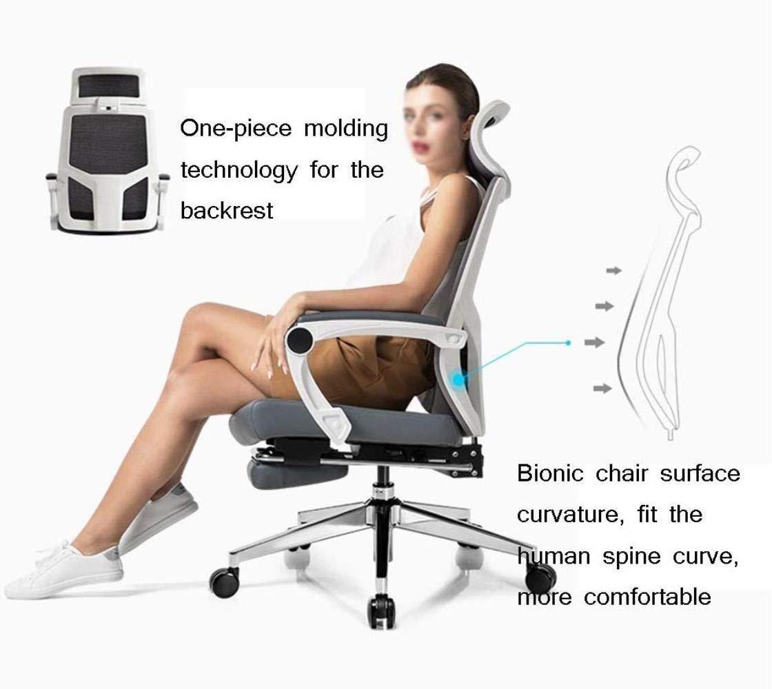 Barstolar Xiuyun kontorsstol spelstol, justerbar sitthöjd lutningsmekanism, 360 graders svängbar för hem dator chef spel fritidsstol (färg: Stil2) Stil1