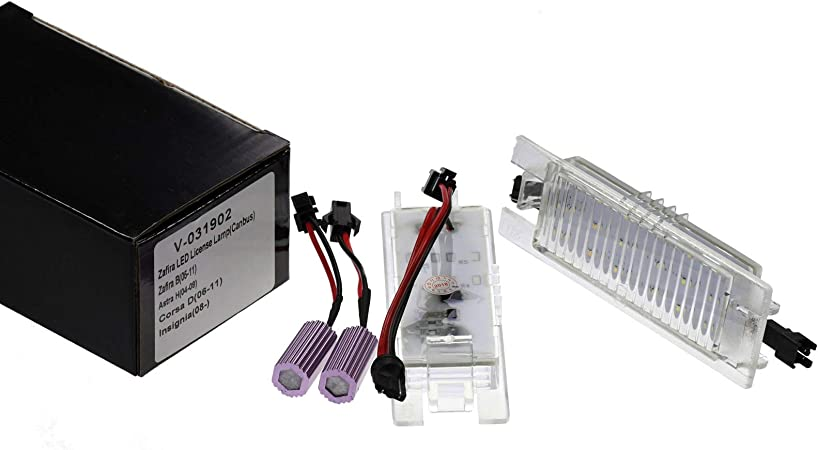 Vinstar Led Kennzeichenbeleuchtung E Geprüft Can Bus 18 Elektronik