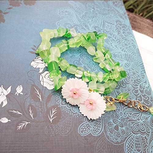 Lin Yu Court diy handmade jewelry retro homemade antiquity antiquity hairpin hairpin headdress costume bracelets women girls Han Chinese clothing]()