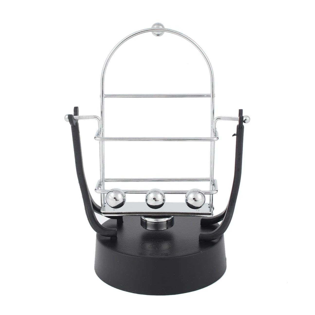 MachinYeser Dispositivo de p/éndulo de Base para tel/éfono Celular Juguete Educativo de p/éndulo de Equilibrio din/ámico Plata y Negro
