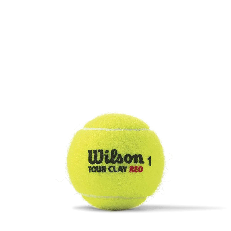Wilson Tour Clay tball 4/Ball Can
