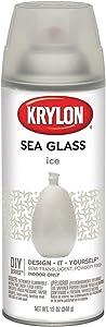 Krylon K09056007 Sea Glass Spray Paint, Ice