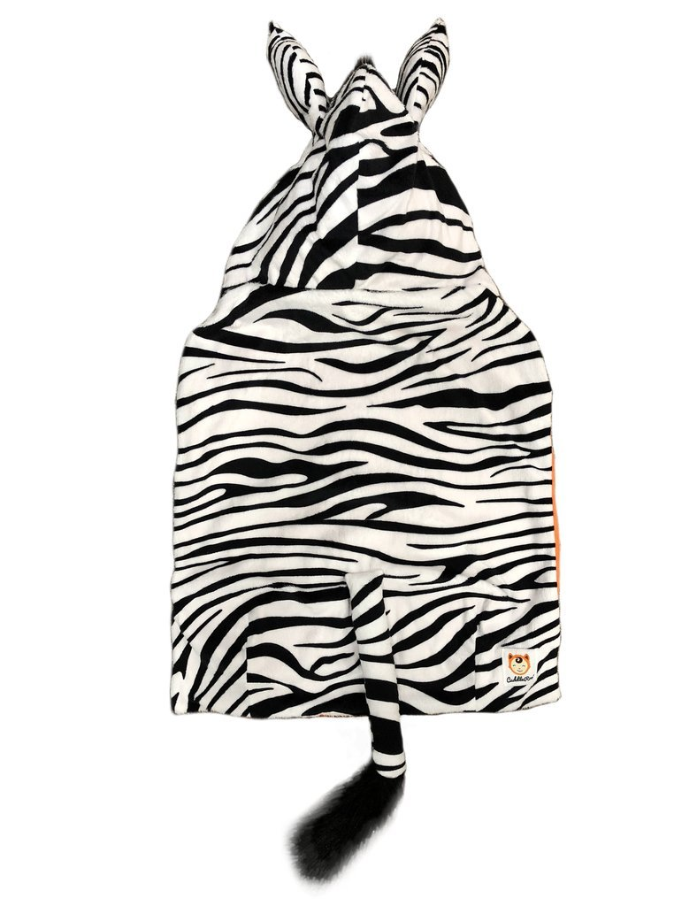 Cute Baby Carrier Cover with Hood for Backpack Baby Carriers by CuddleRoo - Giraffe, One Size CR111-GIRA-1 SZ
