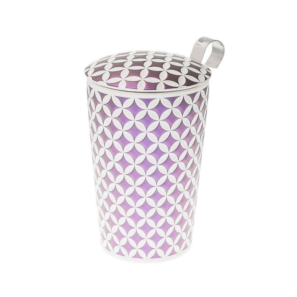 39 teaeve tasse th avec filtre et couvercle may lin lilas. Black Bedroom Furniture Sets. Home Design Ideas
