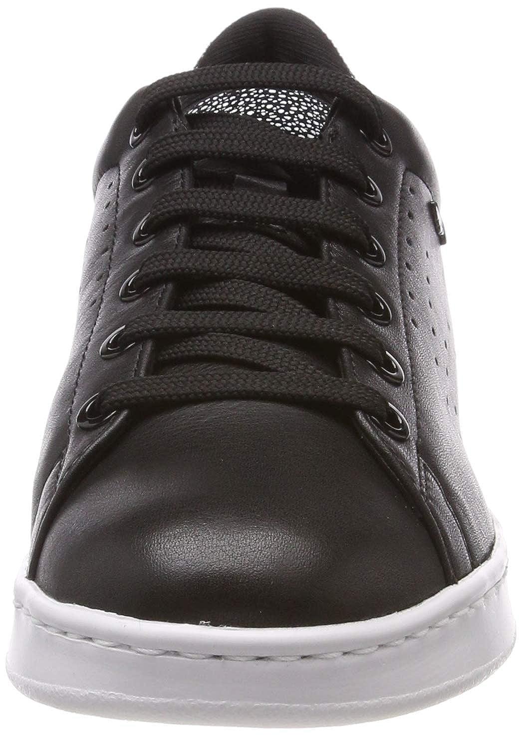 Geox Women/'s D Jaysen a Low-Top Sneakers Black