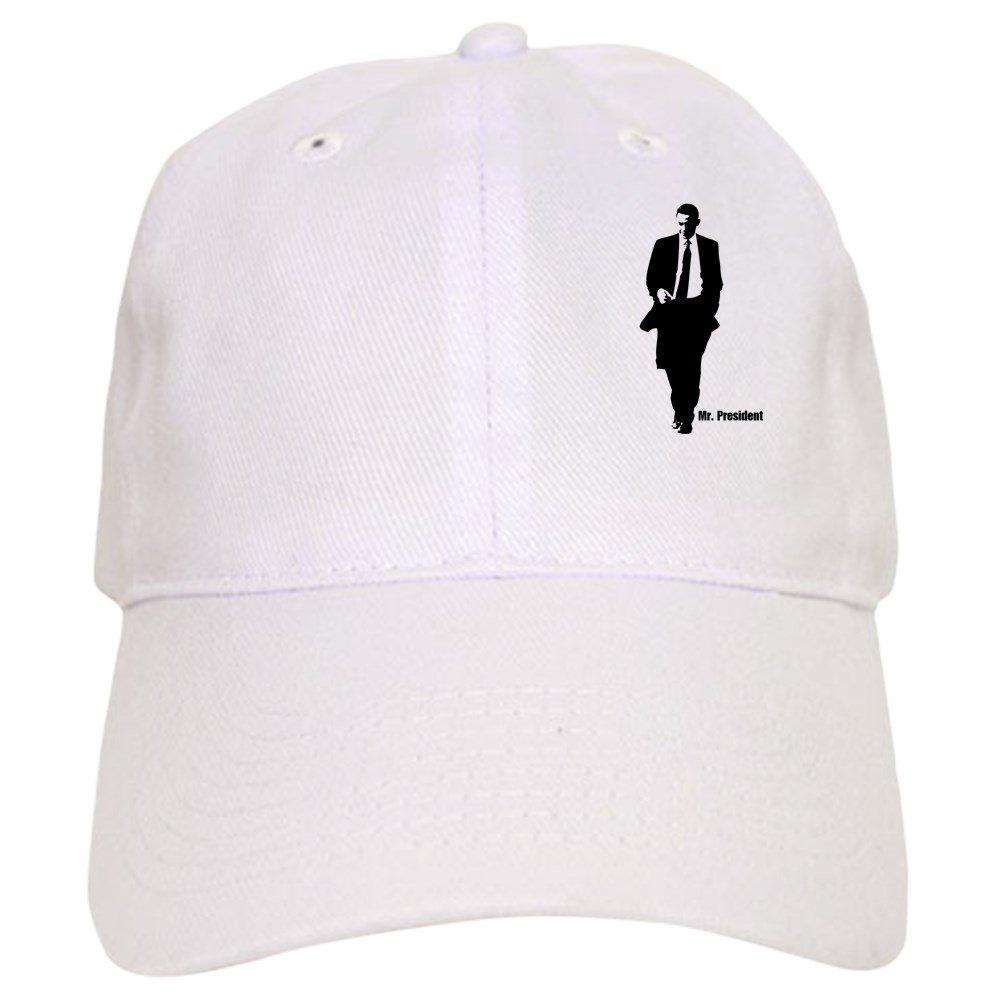 6f802867 CafePress Mr. President (Obama Silhouet Cap Baseball Cap