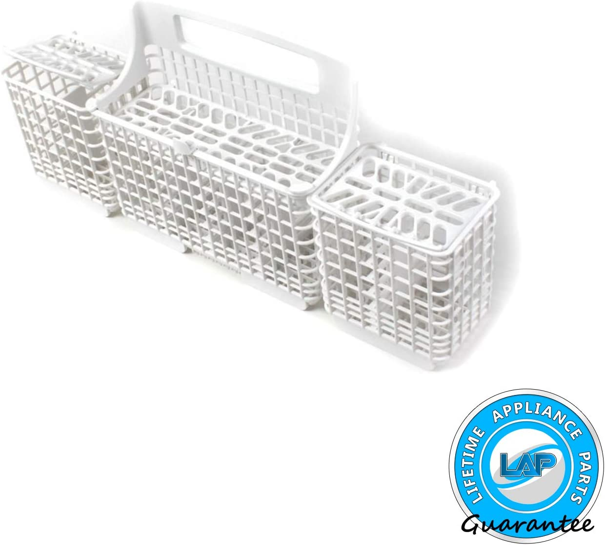 Lifetime Appliance W10807920 Silverware Basket Compatible with Whirlpool, Kenmore Dishwasher - 8562080, WP8562080, 8562086