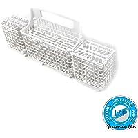 Lifetime Appliance W10807920 Silverware Basket for Whirlpool, Kenmore Dishwasher - 8562080, WP8562080, 8562086