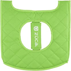 Zuca bag reversible seat cover (black/green)