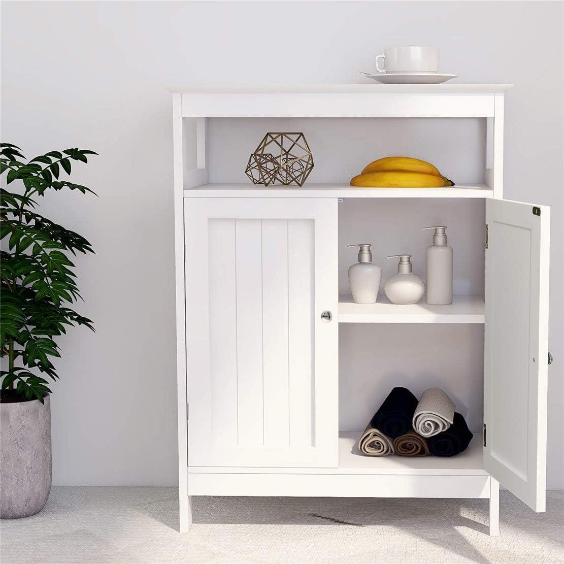 """23.62 """"X 11.81"""" X 31.49 """" inch Sideboard, Kitchen Storage Cabinet, Bathroom Cabinet, Multi-Function Storage Cabinet (White)"""