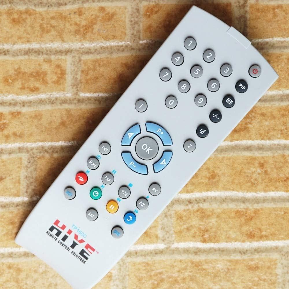 Mando a Distancia Ochoos Grundig Tele Pilot 160C, TP160C, para Grundig CRT TV: Amazon.es: Bricolaje y herramientas