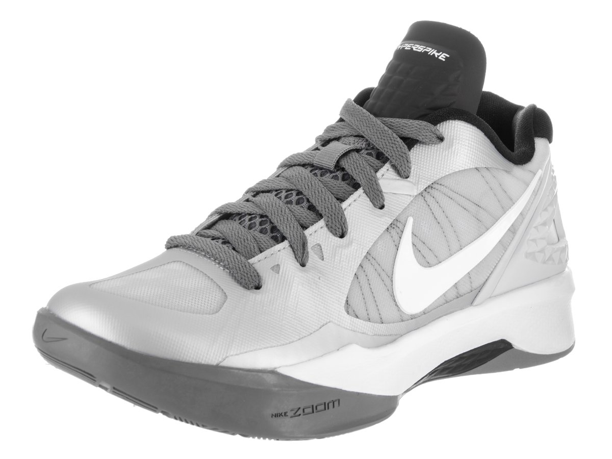 Nike Women's Volley Zoom Hyperspike Pure Platinum/White/Cool Grey Volleyball Shoes - 6 B(M) US