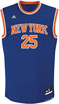 adidas INT Replica Jrsy Camiseta de Baloncesto New York Knicks, Hombre, Azul, 2XS: Amazon.es: Ropa y accesorios
