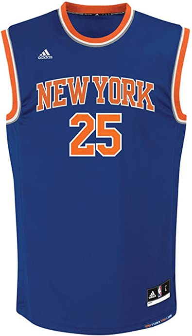 adidas New York Knicks Rose 25 Mens NBA Basketball Jersey Vest