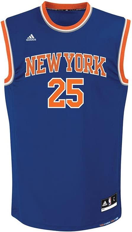 adidas INT Replica Jrsy Camiseta de Baloncesto New York Knicks, Hombre