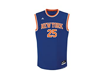 d8e7fe16d Adidas New York Knicks Rose 25 Mens NBA Basketball Jersey Vest ...