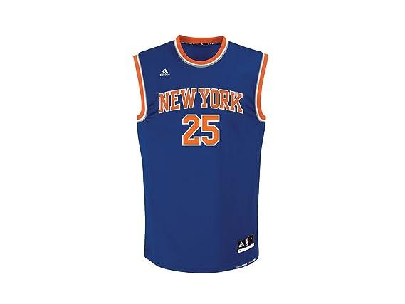 Adidas New York Knicks Rose 25 Mens NBA Basketball Jersey Vest   Amazon.co.uk  Sports   Outdoors 9917d8fd1