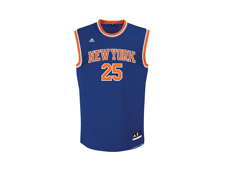 066f1534da78 Amazon.com  adidas New York Knicks Rose 25 Mens NBA Basketball Jersey Vest   Sports   Outdoors