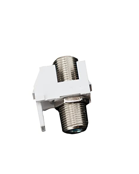 On-Q F3481LAV5 Video FConnector, Light Almond - Electronics Cable Connectors - Amazon.com
