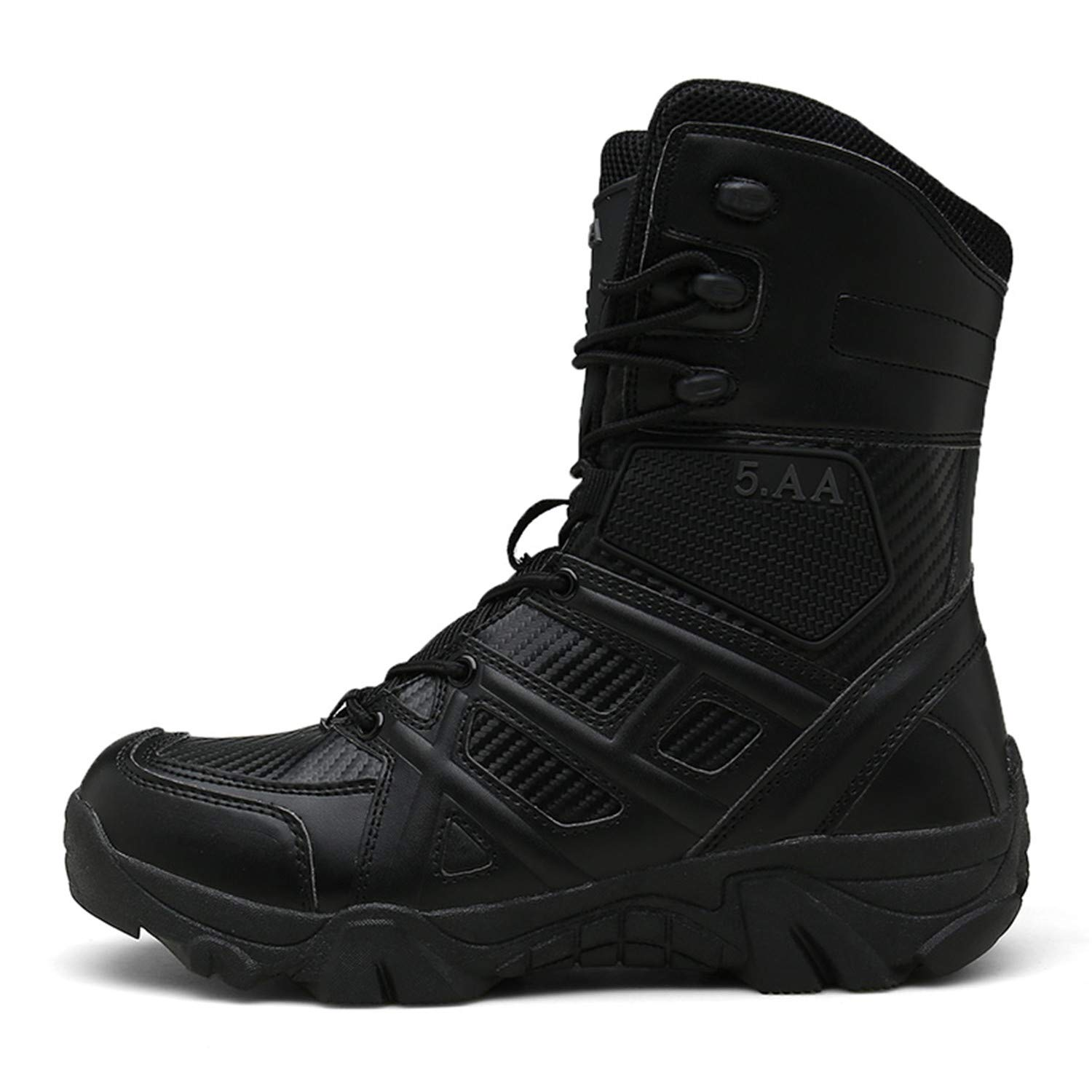 fede00773ce5b Amazon.com  PULUSI Men s Waterproof Tac Force Combat Military Tactical Shoes  Work Boots  Shoes