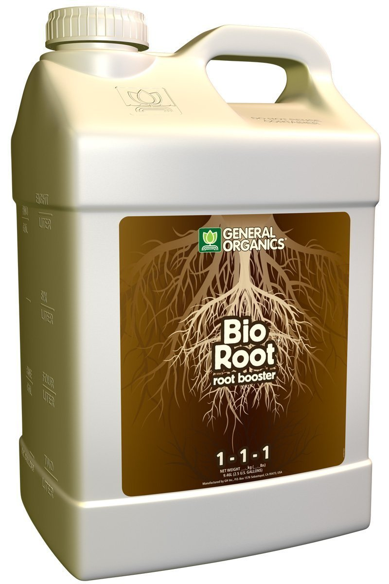 General Hydroponics GH5324 Organics BioRoot Root Booster, 2.5-Gallon