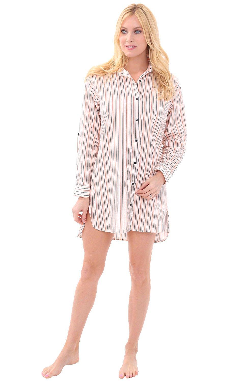 Del Ross Women Cotton Nightshirt 4195e5fa5965