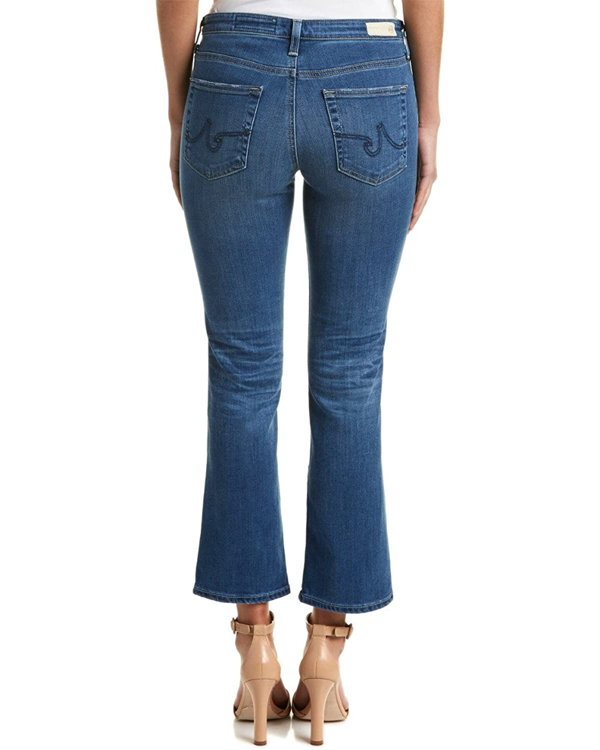 Ag Jeans The Jodie 10 Year Liberation High-Rise Slim Flare Crop