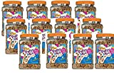 Purina Friskies Party Mix Crunch Beachside Cat Treats, 20 oz with Shrimp, Crab & Tuna Flavors (12pck)