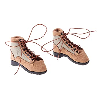 1//6 Scale Men/'s Soldier Lace Up Boots Shoes for 12/'/' Side Show Action Figure