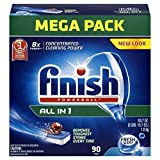 Image of Finish Powerball Tabs Dishwasher Detergent Tablets, Fresh Scent