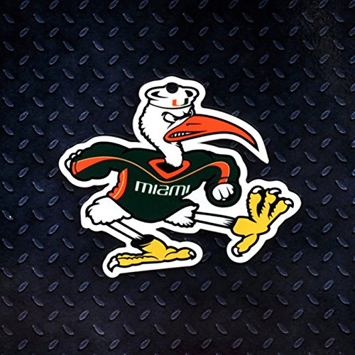 Authentic Street Signs NCAA Super STEEL 4 Inch Magnet (Miami Hurricanes- Ibis) (Ncaa Miami Hurricanes Street Sign)