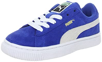 Puma Unisex-Infants Suede Classic Blue Trainers 353636-02 4 Infants UK, 20