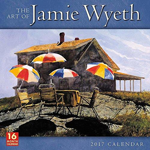 the-art-of-jamie-wyeth-2017-wall-calendar
