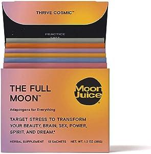 Moon Juice - The Full Moon Dust | Adaptogenic Sampler Box (12 Servings)