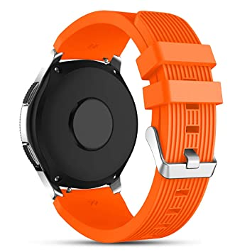 Cyeeson Watch - Correa de Silicona Suave para Reloj Inteligente Samsung Galaxy Watch 46 mm/