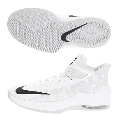 342d4f4196 Amazon.com | Nike Kid's Air Max Infuriate II (GS) White/Black-Pure Platinum  Size 4 Y US | Basketball