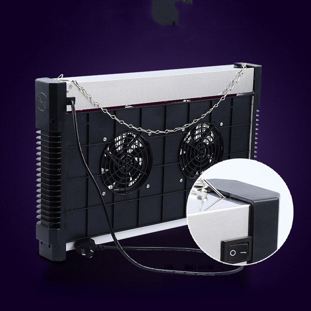 53x33cm LIXIONG Ammazza Zanzare Lampada LED elettro-Shock Tipo di aspirazione Libera Radiazioni Muto Famiglia Ristorante Negozio 10W