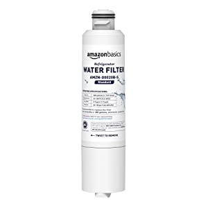 AmazonBasics Replacement Samsung DA29-00020B Refrigerator Water Filter- Standard Filtration