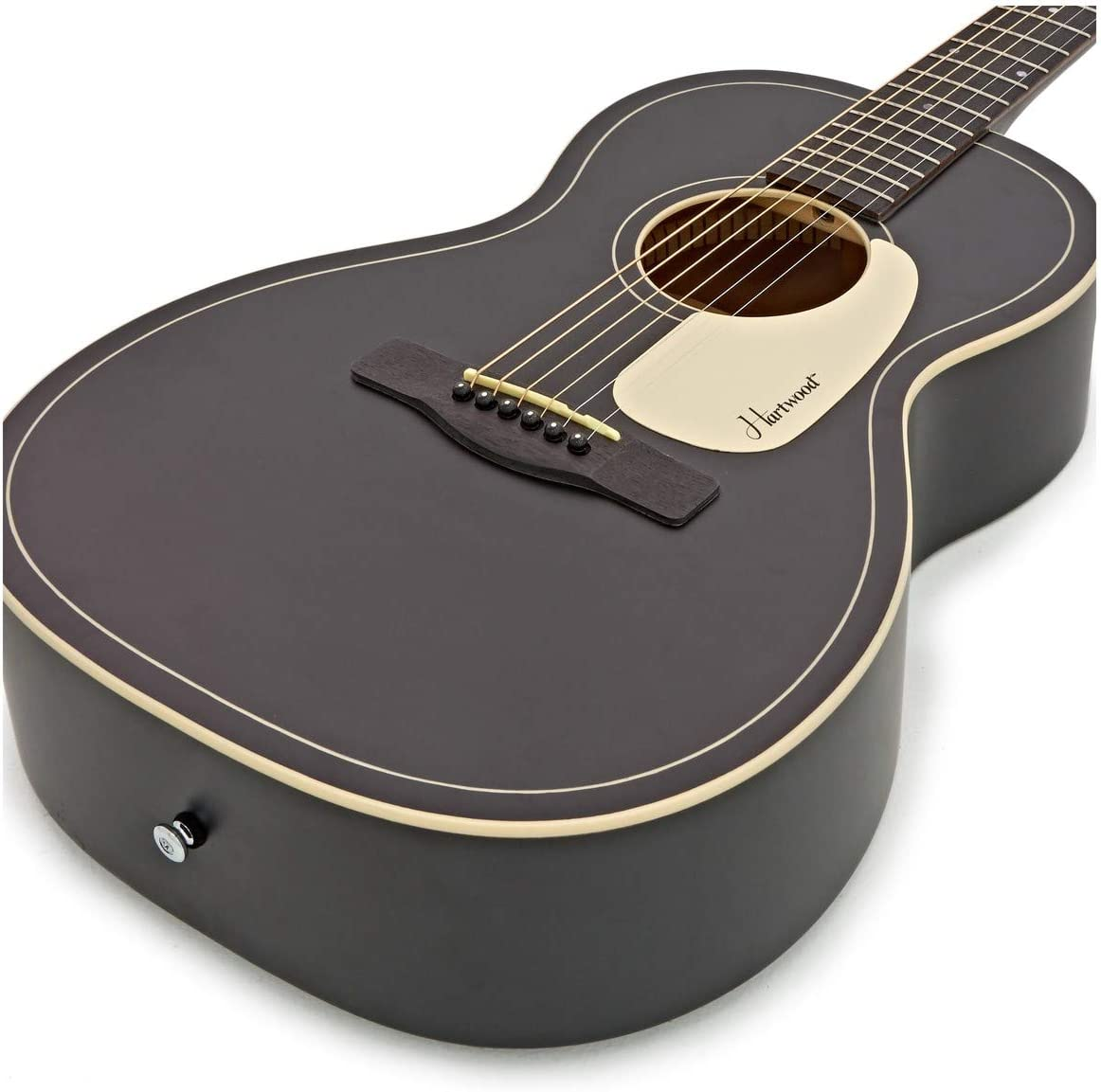 Guitarra acustica Hartwood Villanelle Parlour Satin Black: Amazon ...